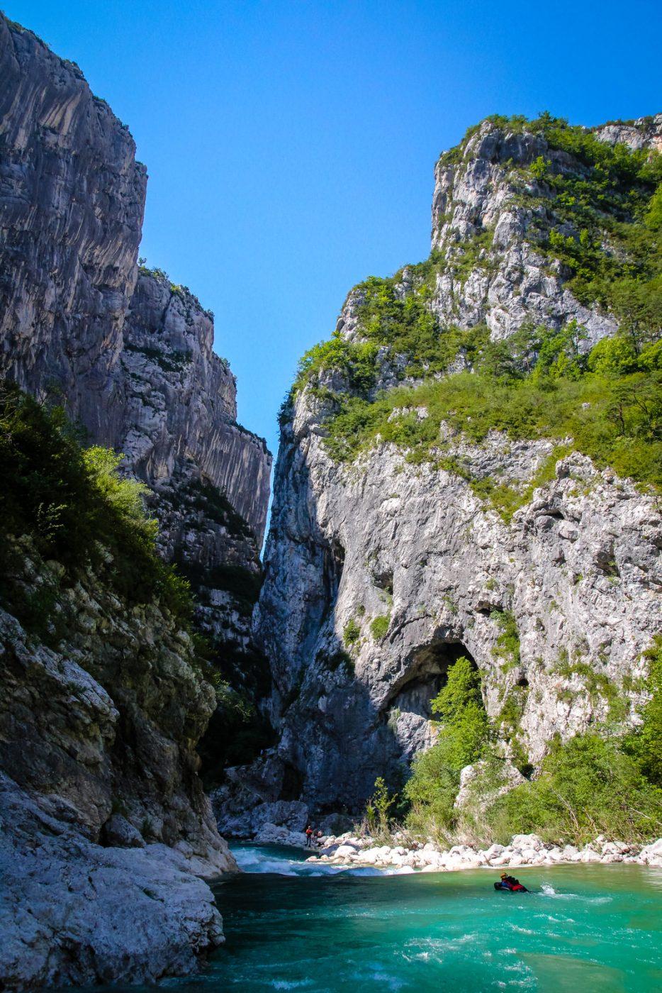 Découvrez le Grand Canyon du Verdon en Hydrospeed