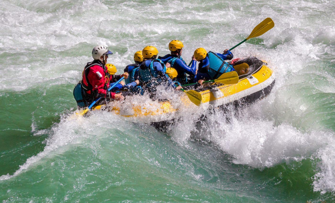 Rafting dans le Verdon à Castellane